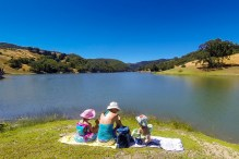 Spending Father's Day on Lake Sonoma at Yorty Creek