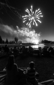 Fireworks at Visalia Country Club