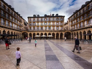 The old town of San Sebastian