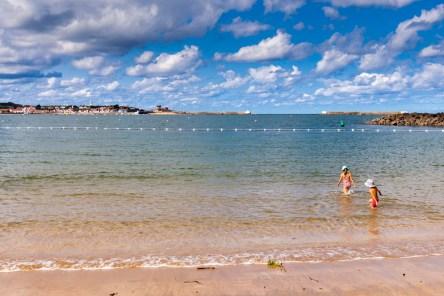 In heaven on the sand of Saint Jean de Luz