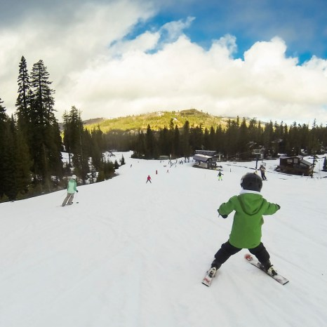 Some hot laps around Sugar Bowl for our first ski of 2018