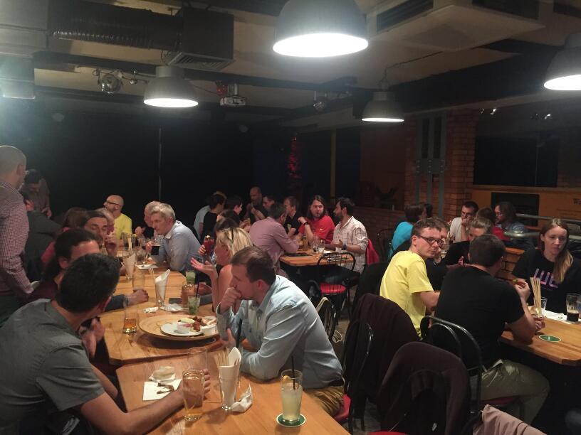 ABE 15 - Speakers dinner