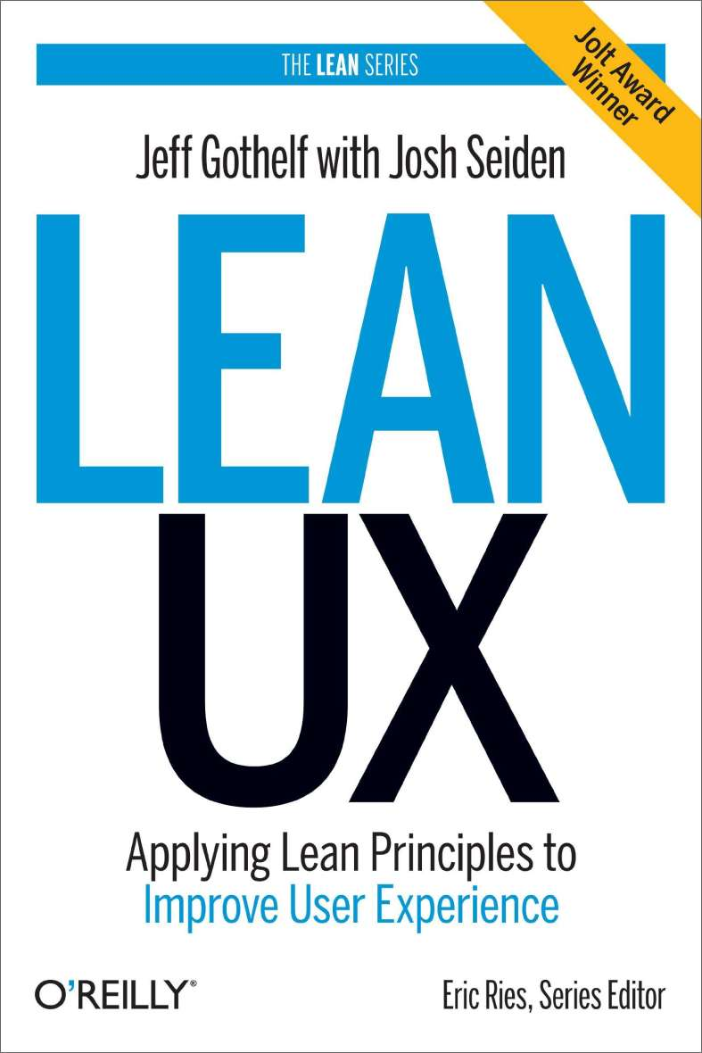 Lean UX (Jeff Gothelf)