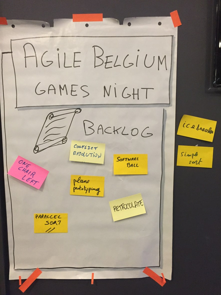 Agile Belgium Agile Games Night