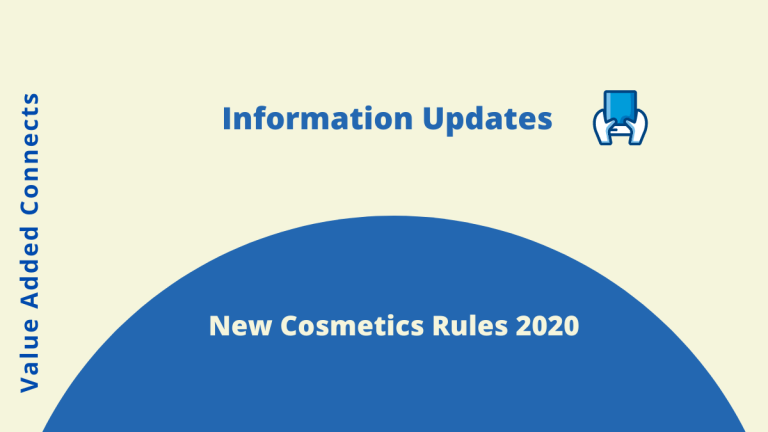 New Cosmetics Rules 2020