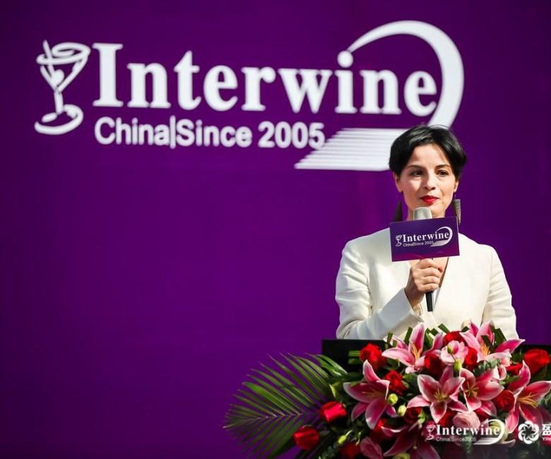 Console Gen. Italia alla cerimonia apertura Interwine