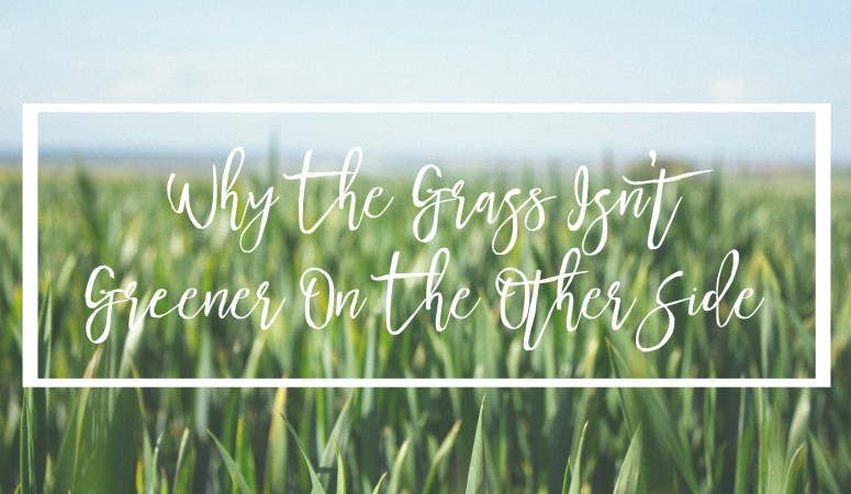 Why The Grass Isn't Greener On The Other Side