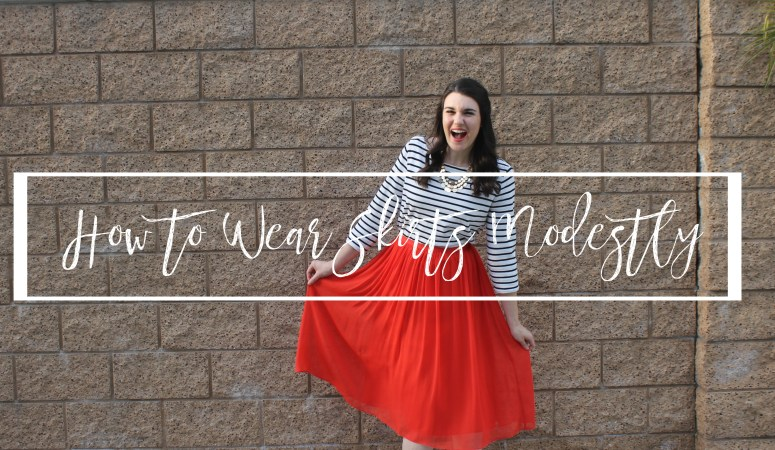 How to Wear Skirts Modestly