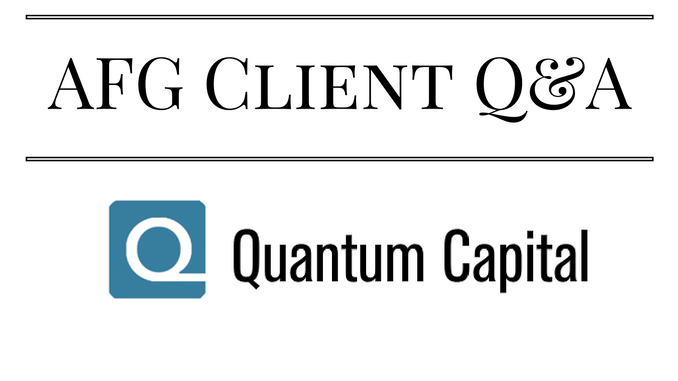 AFG Client Q&A – Howard B. Aschwald, CFA, Quantum Capital Management