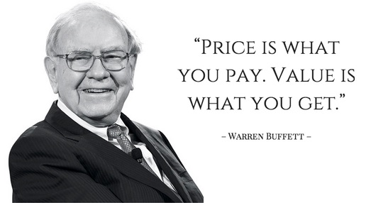 warren buffett quote on value investing
