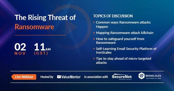 Ransomware--webinar
