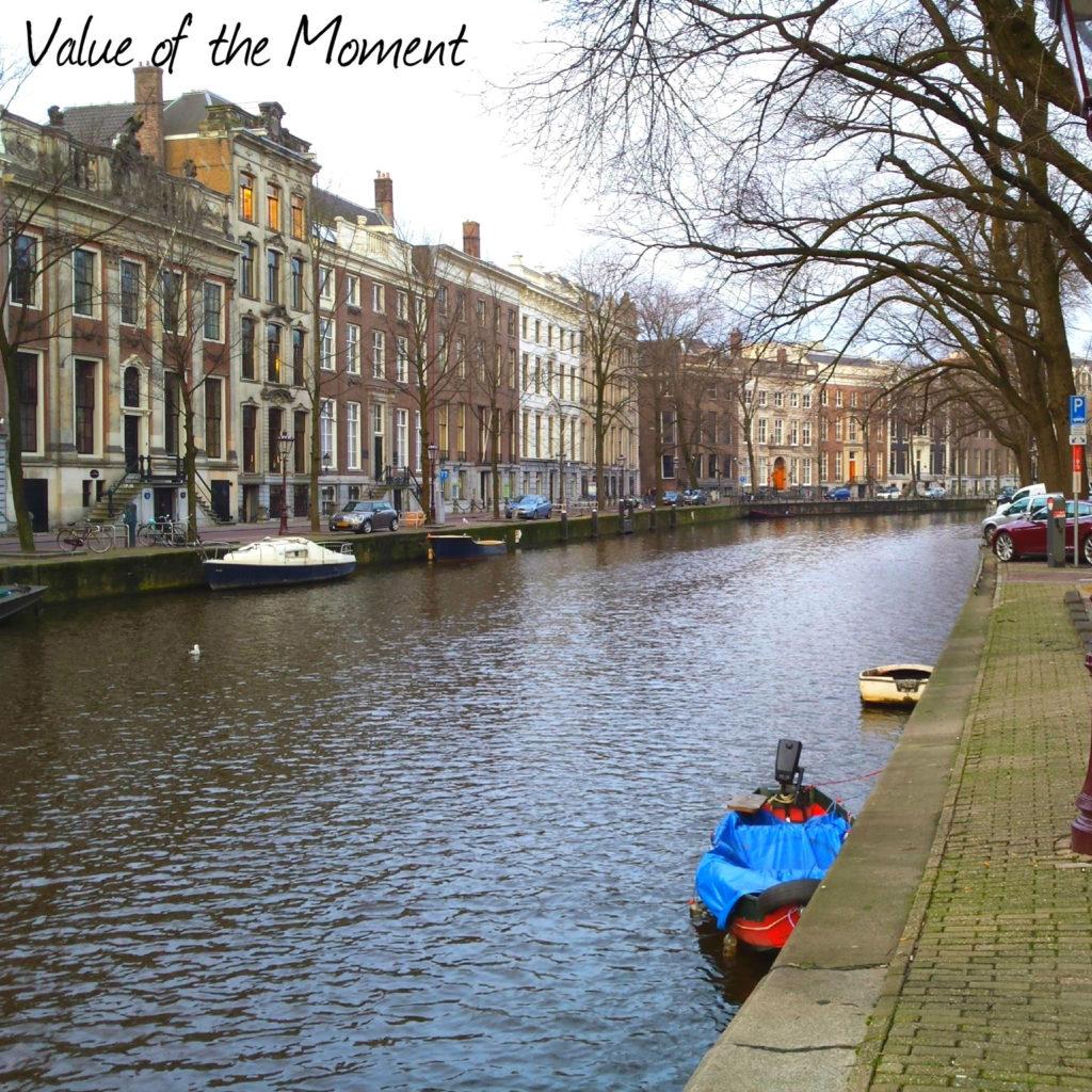 Канал, Амстердам, Голландия (Нидерланды)