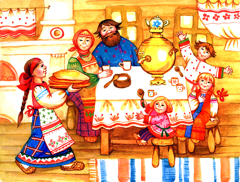 Tour about Russian family and Russian traditions