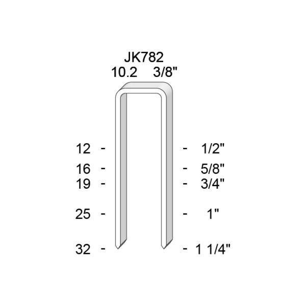 JK782 Capse industriale