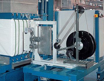 Masina de legat baloturi de fibre