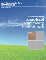 Values based Commissioning in Mental Health