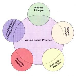 values based practice model
