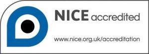 NICE Accredited logo