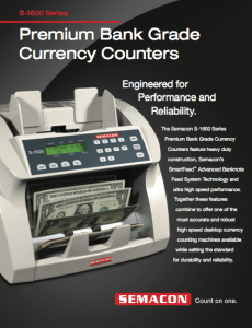 Premium Bank Grade Currency Counters Icon