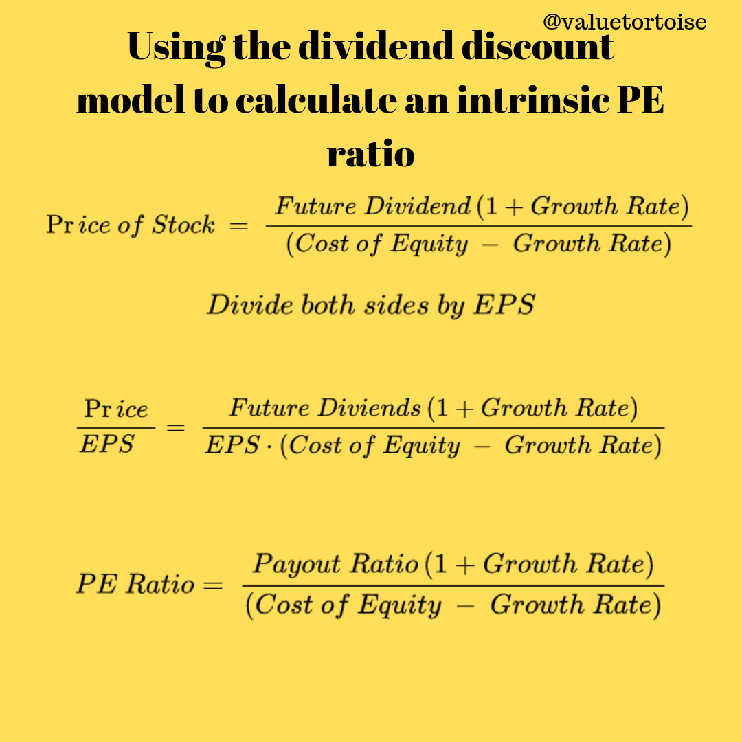 what is pe ratio used for