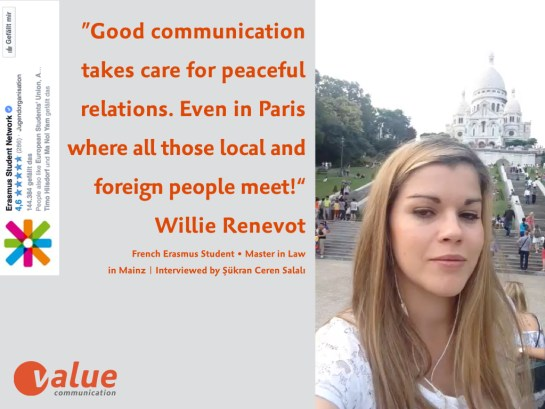 ValueTalk! — What is the real value of communication ERASMUS students.005