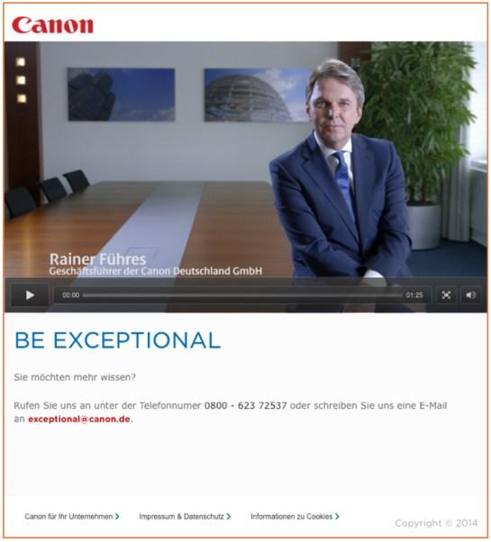 Canon Screenshot  Video Rainer Führes