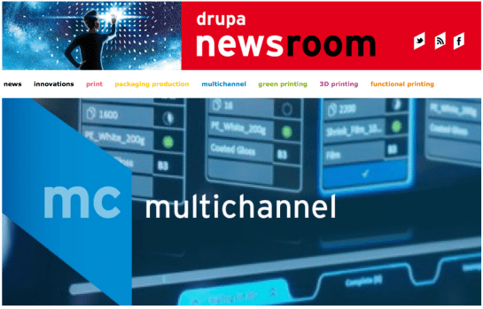 drupa 2016 newsroom Multichannel