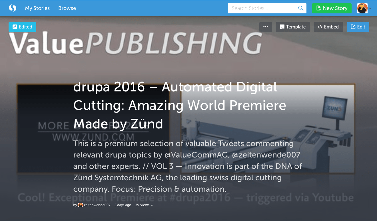 05-drupa2016 ValuePublishing on Zünd Systemtechnik