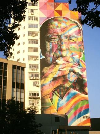 In Memoriam Oscar Niemeyer by KOBRA