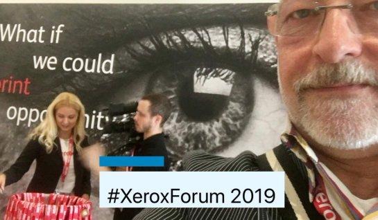 #XeroxForum Key Visual AW