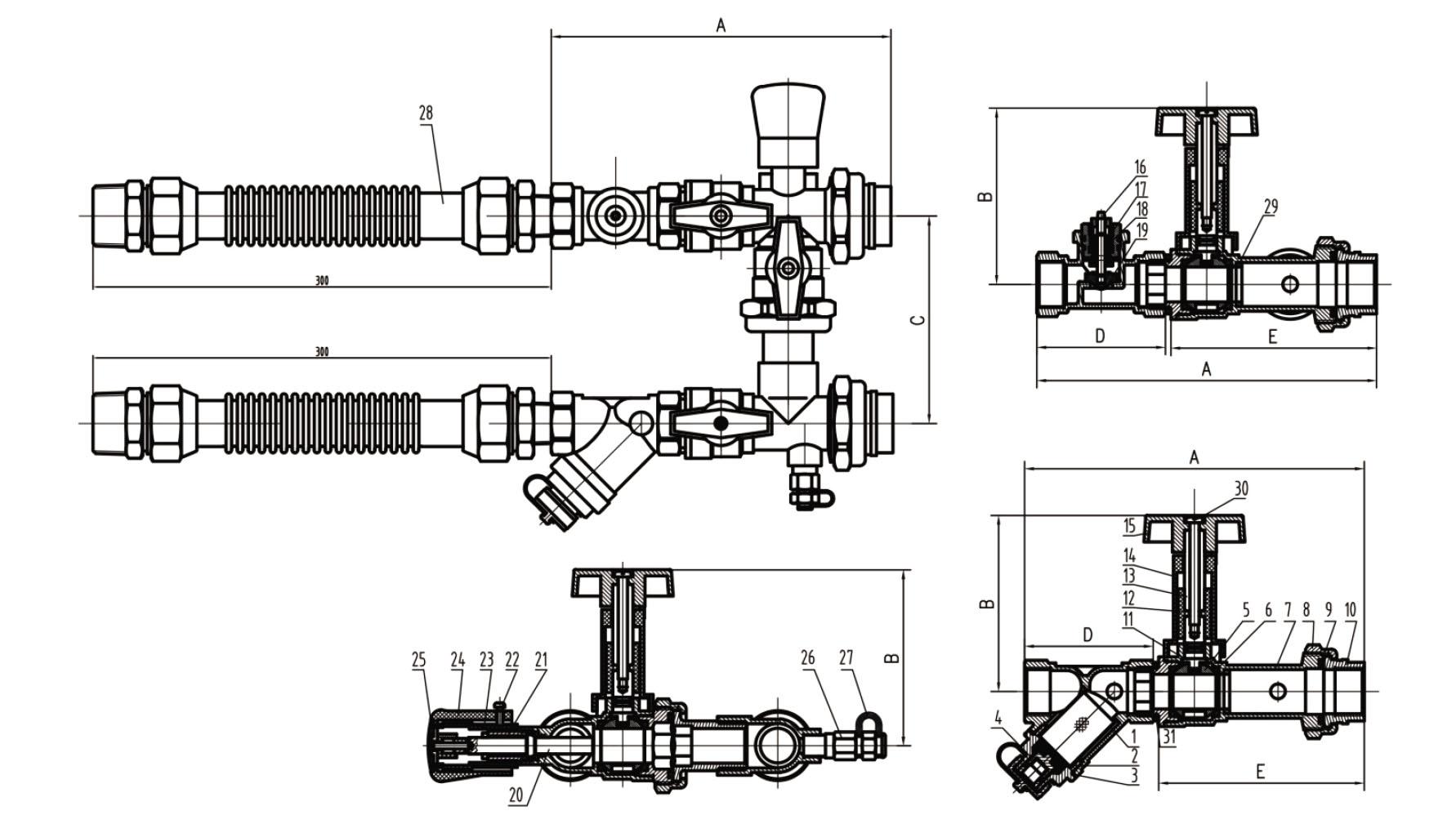 Fig Vfcu25 Fcu Valve Kit Pn25 Valvo
