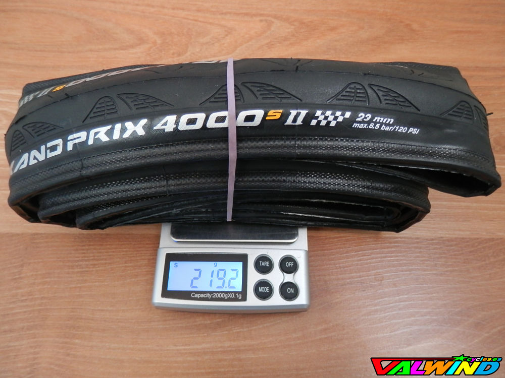 Test Cubiertas Continental Grand Prix 4000 S II por The Natx