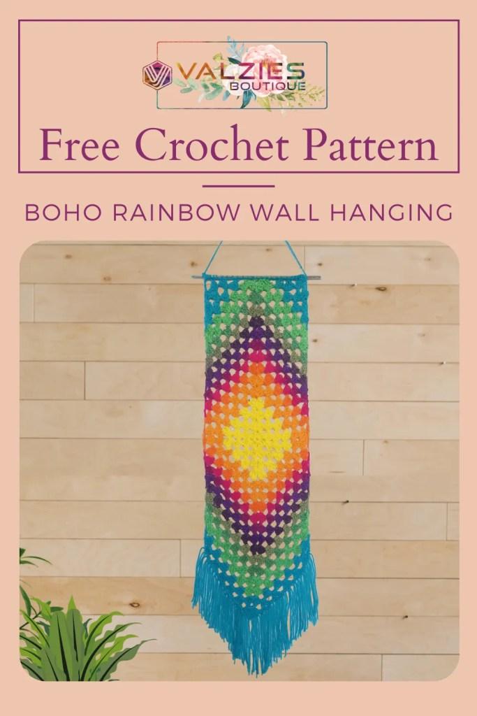 Boho Crochet Wall Hanging