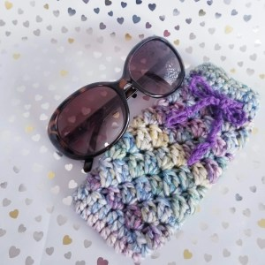 Sunglasses Pouch-Purple