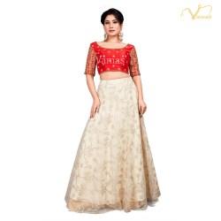 c18a478369950 Vamas Fancy Net Skirt ( VF-SKIRT-93 )