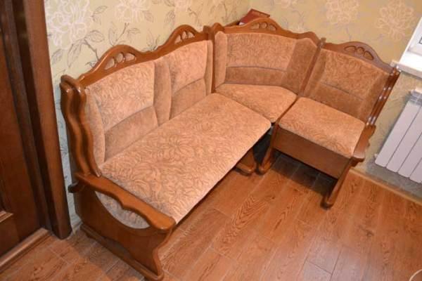 Кухонные уголки из дерева фото, Киев, купить деревянный ...