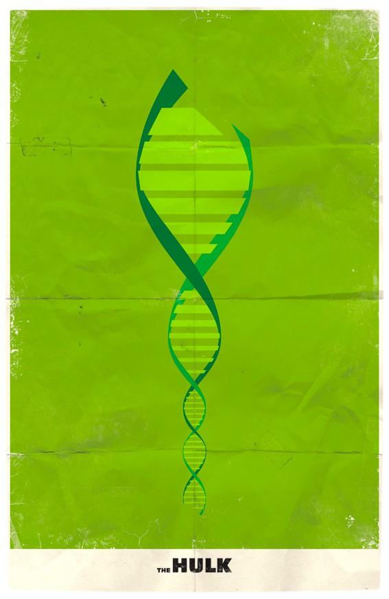 Vamers - Marko Manev - Minimalist Marvel Posters - The Hulk