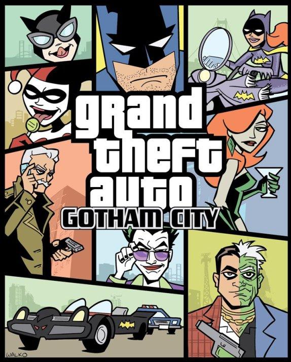 Vamers - Grand Theft Auto: Gotham City