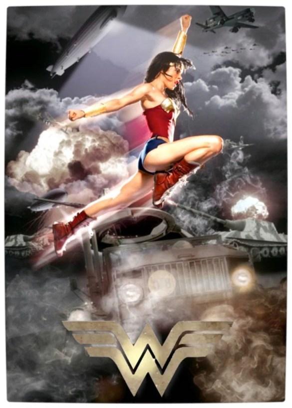 Vamers - Fandom - Wonder Woman Movie (Fan made) - Poster