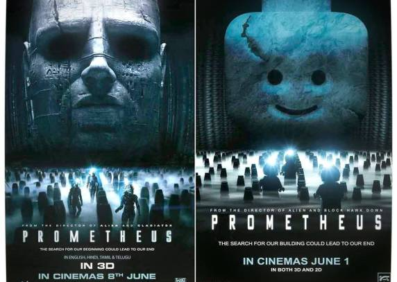 Vamers - Fandom - Movie Lego Posters - Prometheus
