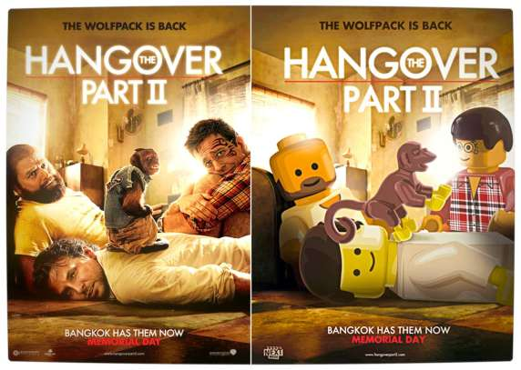 Vamers - Fandom - Movie Lego Posters - The Hangover Part 2
