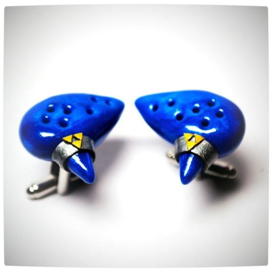 Vamers - Geekosphere - SUATMM - OhMyGeekness by Jess Firsoff - Legend of Zelda Ocarina of Time Cufflinks