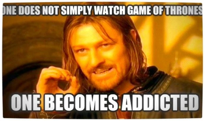 Game of Thrones Fan and Addict