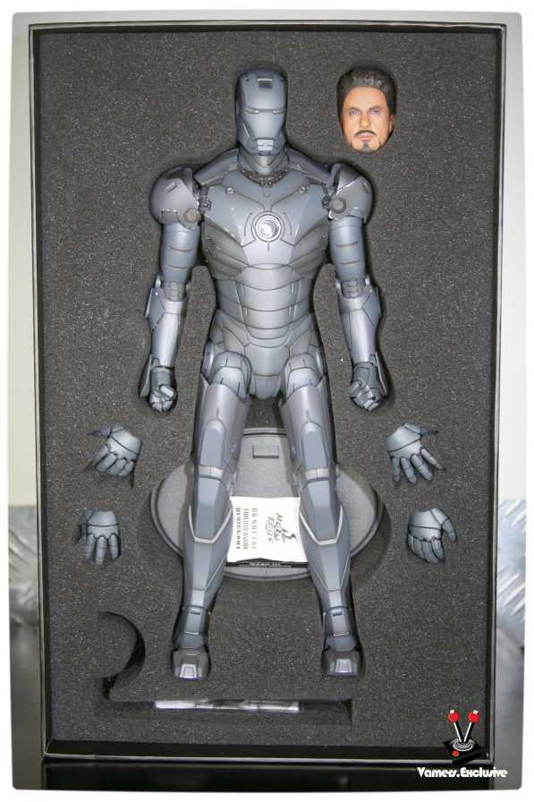 Vamers - Hot Toys - Limited Edition Collectible - Iron Man Mark III - SIlly Thing's TK Edition - MMS101 - Packaging