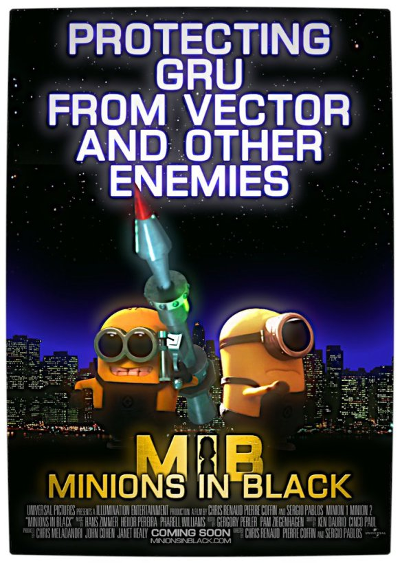 Vamers - Fandom - Minions in Black Movie Poster