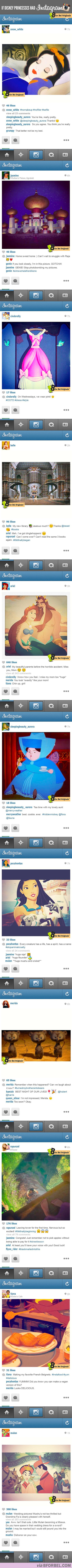 Vamers - Artistry - Fandom - Ermahgerd - What if Disney Princesses has Instragram - Full