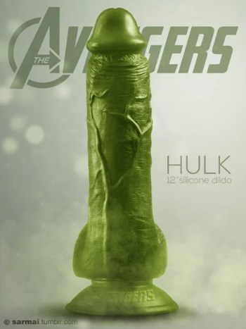Vamers - Ermahgerd - Earth's Mightiest Sex Toys Assemble as The Avengers Dildos - The Hulk