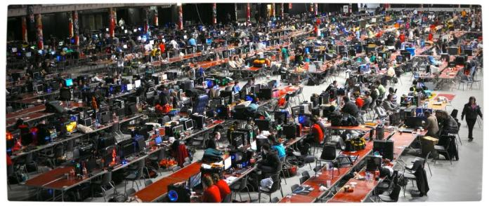 Vamers - FYI - Events - NAG Lan at rAge 2013 - Overview