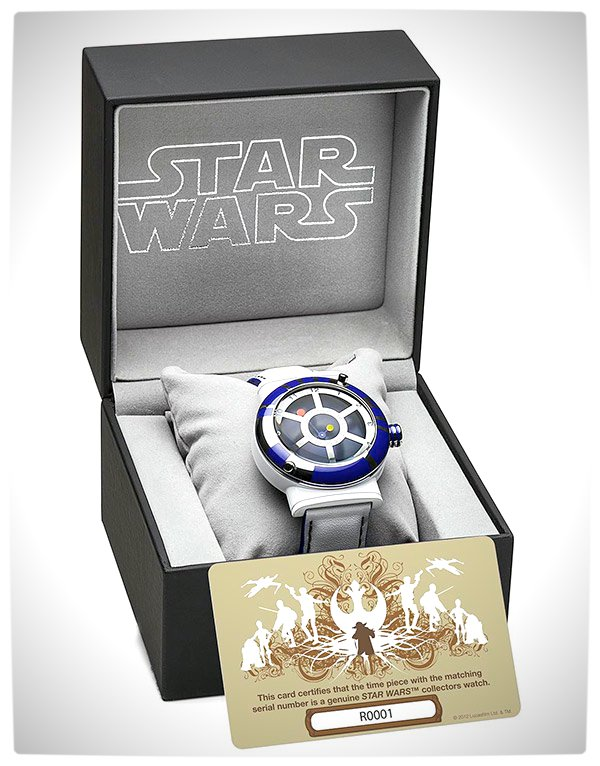 Vamers - SUATMM - Star Wars Collector's Watches - It Is Time to Use the Force - R2-D2 Time Piece Box