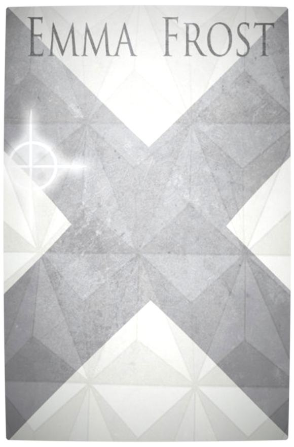 Vamers - Artistry - Minimalist X-Men Poster Art - Emma Frost